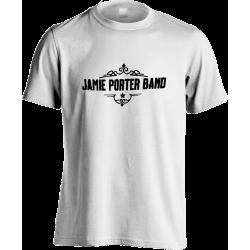 Straight Logo White T-shirt