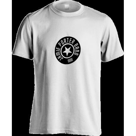 Round Logo White T-shirt