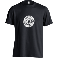 Round Logo Black T-shirt