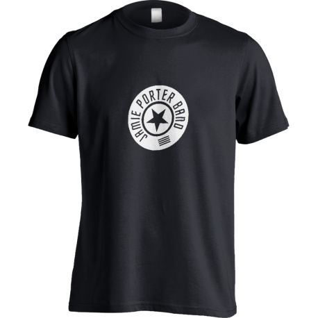 Round Logo Black T-shirt