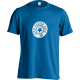 Round Logo Blue T-shirt